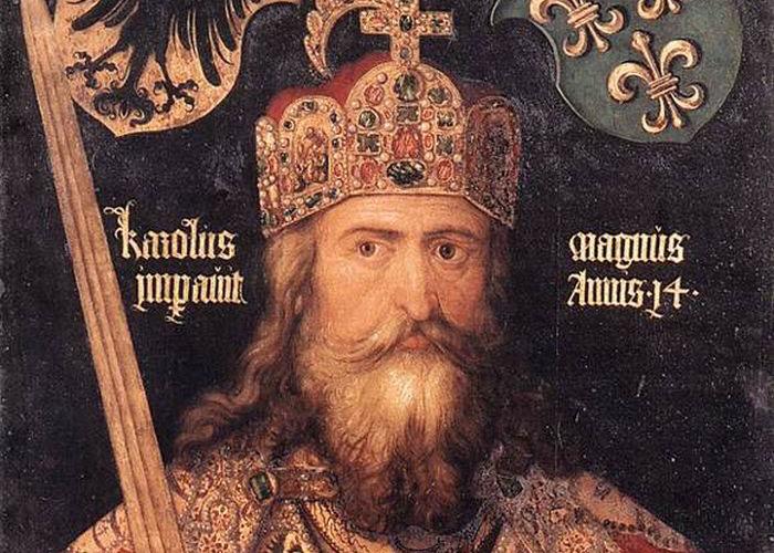 Charlemagne et sa barbe