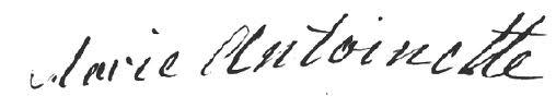 Signature-Marie-Antoinette
