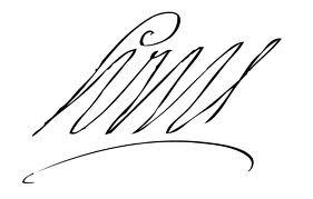signature-louis-XIV