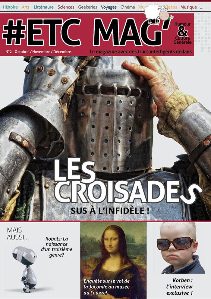 Couverture de l'#ETC Mag' N°2