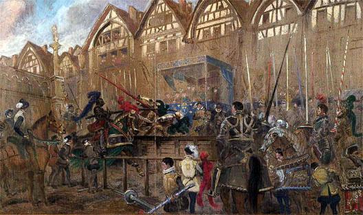 Henri II en tournoi