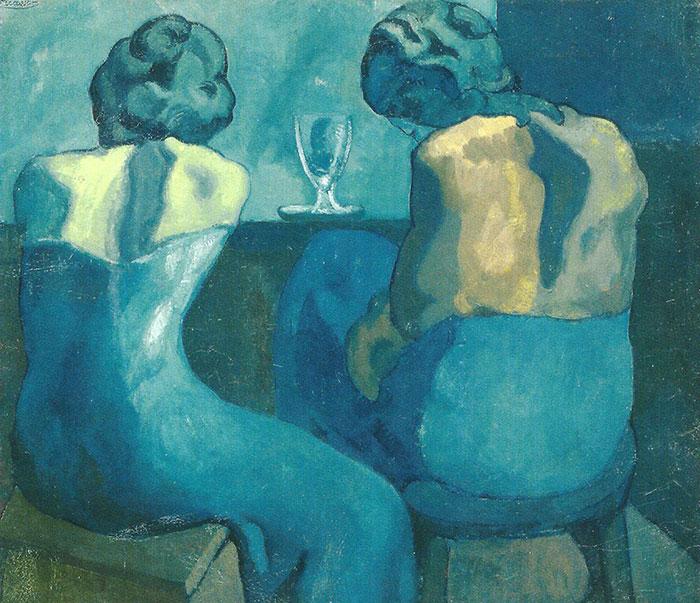 Picasso-deux-femmes-au-bar