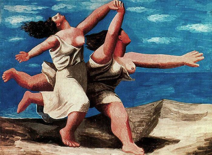 Picasso-deux-femmes-courant-sur-la-plage