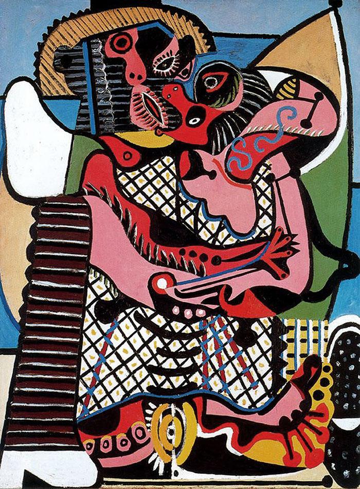 Picasso-le-baiser