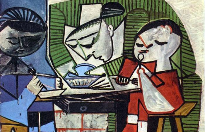 Picasso-le-dejeuner