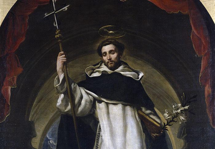 Dominique de Guzman, fondateur de l'ordre des Dominicains ou ordre des Prêcheurs