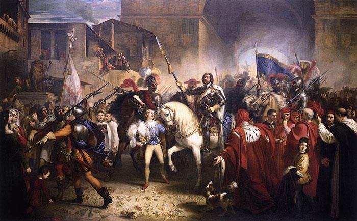 Entrée de Charles VIII de France