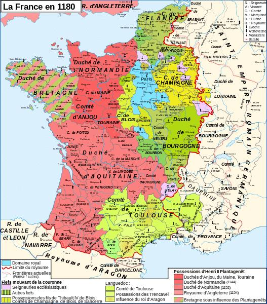 La France sous Philippe Auguste