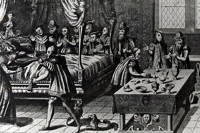 La mort de Henri II, 1559, Jacques Tortorel & Jean Perrisin