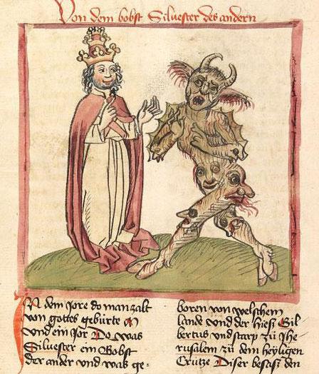 Sylvestre II et le démon