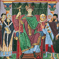 Sylvestre II et Otton Ier