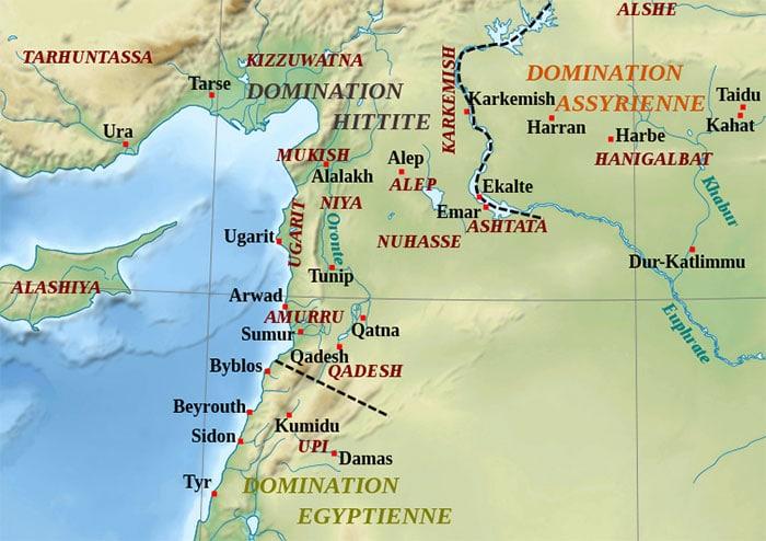 Le Moyen Orient au temps de Ramsès II
