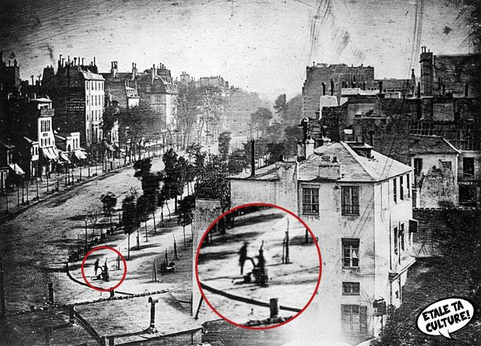 Boulevard du Temple, par Louis Daguerre