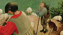 La chute d'Icare, Breugel l'Ancien
