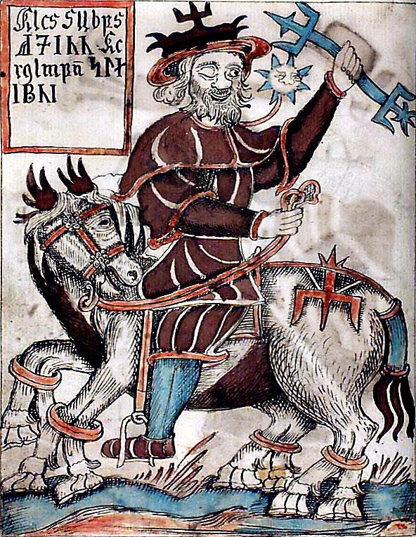 Odin-chevauchant-Sleipnir