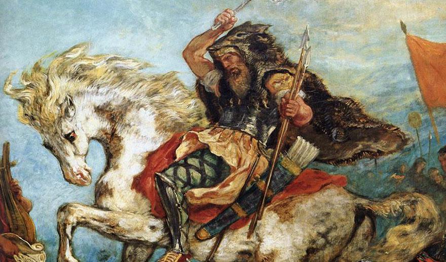 Attila-1847-Eugene-Delacroix-fragment