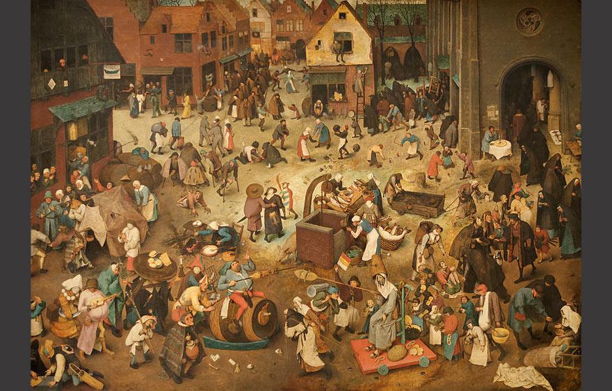 Le_combat_de_Carnaval_et_de_Carême_Pieter_Brueghel_l'Ancien-1559