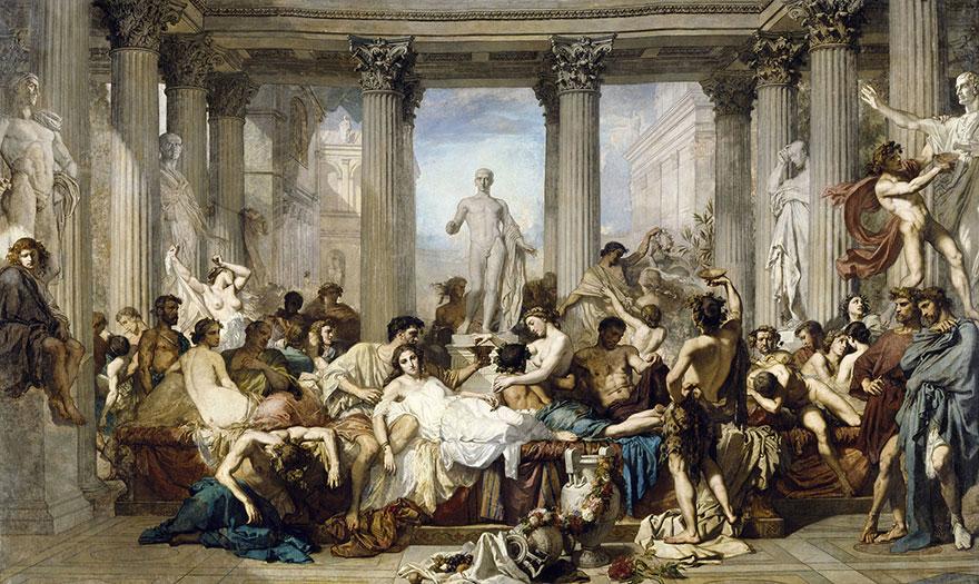 Thomas-Couture-Les-Romains-de-la-decadence