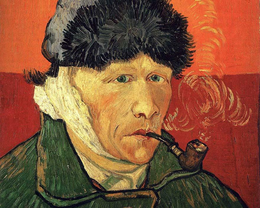 Vincent_van_Gogh-autoportrait-a-loreille-coupee