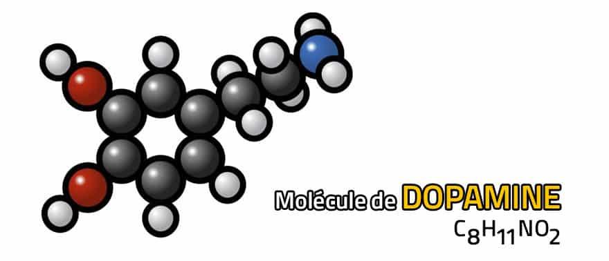 molecule-de-dopamine