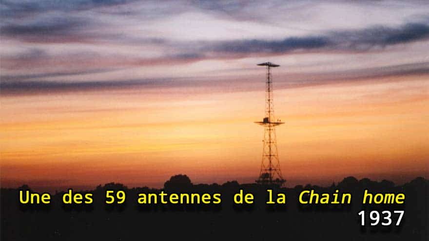 Une des 59 antennes de la Chain home
