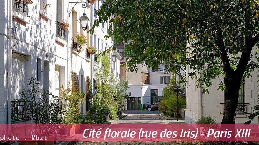 La Cité florale (rue des Iris)