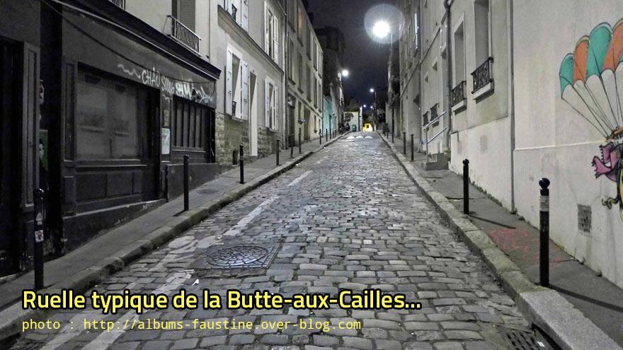Ruelle typique de la Butte-aux-Cailles