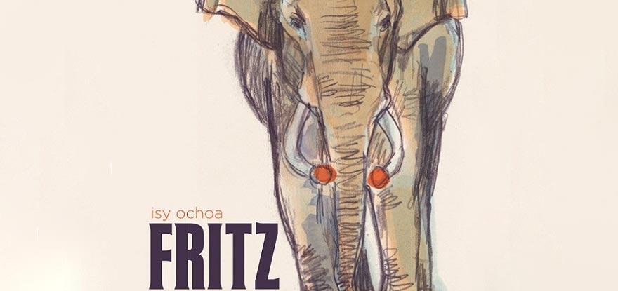 Fritz l'éléphant - image d'illustration livre d'Isy Ochoa sur le sujet