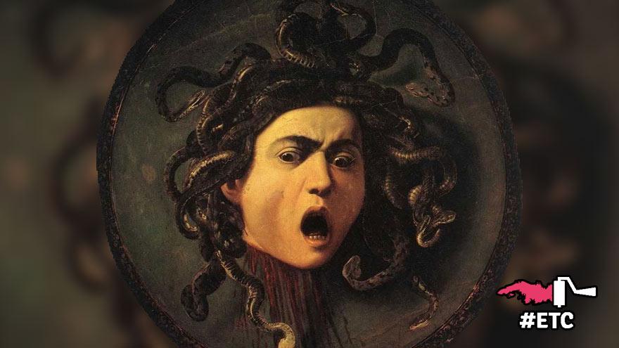 L'adversaire de Persée : Portrait de Méduse, Le Caravage (1573-1610)