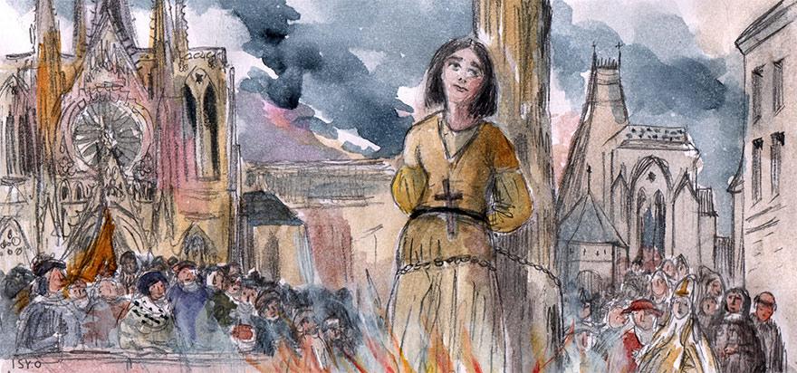 La perfidie du Cauchon : le procès de Jeanne d'Arc (1431)